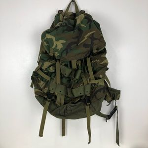US Military Camo Field Pack Large Internal Frame
